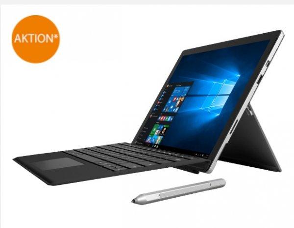 *UPDATE: Wieder bestellbar* [Saturn] Surface Pro 4 (i5-6300U, 8GB RAM, 256GB SSD) inkl. Surface Pro 4 Type Cover für 1249€