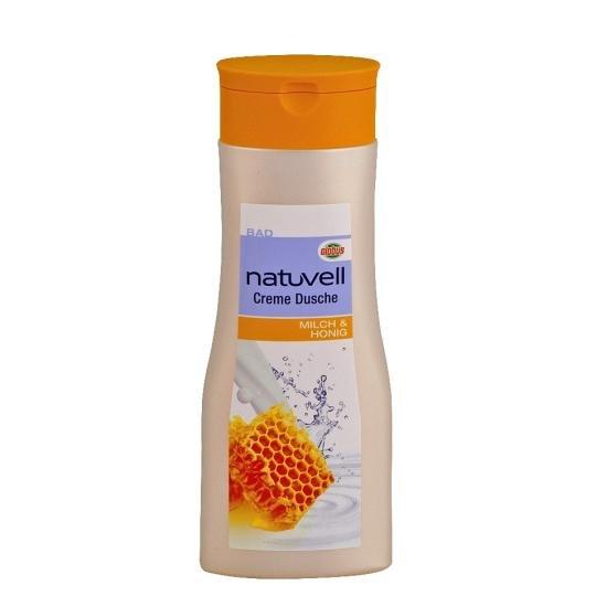 Natuvell Creme Dusche Milch und Honig gratis (300 ml) Globus