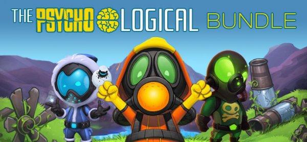 [Steam] Psycho Logical Bundle (bis zu 12 Spiele, davon 9 mit Sammelkarten) ab 0,90€ @ indiegala