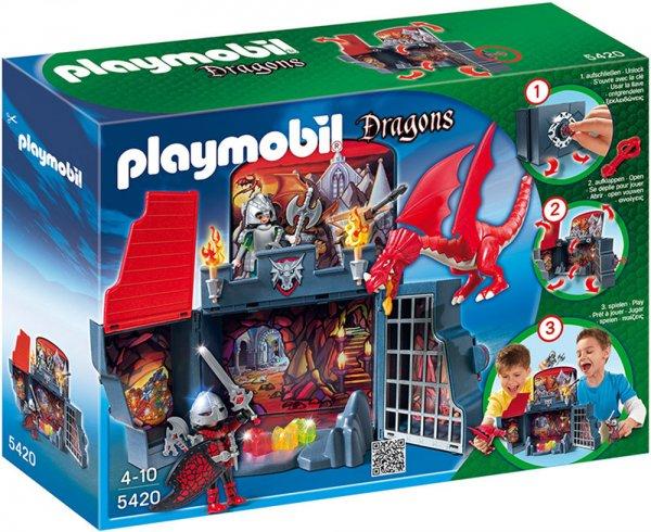 PLAYMOBIL 5420 - Aufklapp-Spiel-Box, Drachenverlies @ Amazon Prime