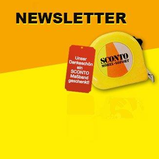 [Offline]Sconto Maßband für Newsletter Anmeldung