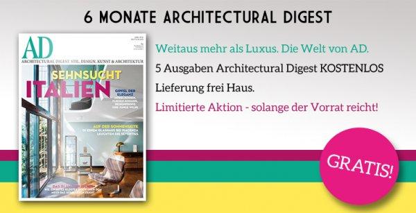 AD Architectural Digest 6 Monate kostenlos
