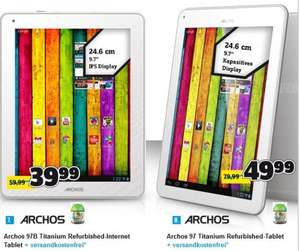 [Conrad] Archos 97b Titanium Android-Tablet (Refurbished) 24.6cm/9.7 Zoll 8 GB WiFi Weiß 1.6 GHz Dual Core