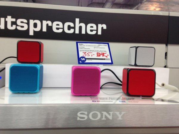 Lokal? Saturn Do-Eving Sony SRS-X Bluetooth Lautsprecher 35 Euro