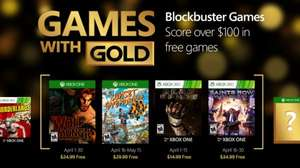 Xbox Live Games With Gold April 2016: XOne: The Wolf Among Us/ Sunset Overdrive X360: Dead Space/ Saints Row IV