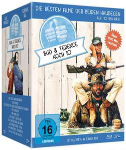 [Mediadealer] Bud Spencer & Terence Hill - Jubiläums-Collection-Box [Blu-ray]
