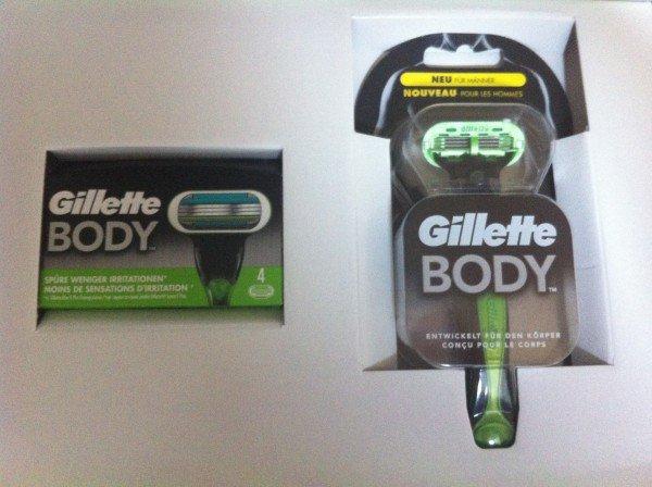 [dm] Gillette Body: 4 Klingen kaufen, Rasierer kostenlos bekommen -> ca. 2.50€ pro Klinge