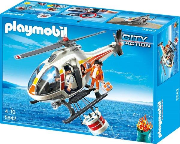Lokal Dortmund - Playmobil Hubschrauber 5542 und Ferienhaus 3230
