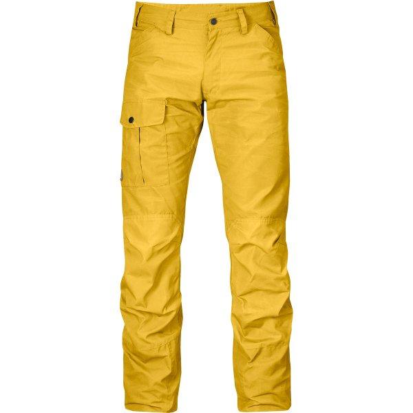 """-ABGELAUFEN- [Amazon] Fjällräven Outdoorhose """"Nils"""" (Größe 48) in gelb für 51 Euro mit Prime (andere Größen ähnlich günstig)"""