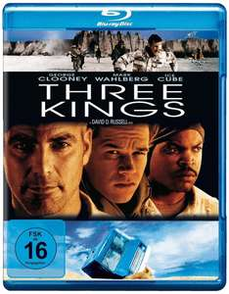"""[Amazon Prime] """"Three Kings"""" mit George Clooney und Mark Wahlberg (Bluray) für 5,21€"""