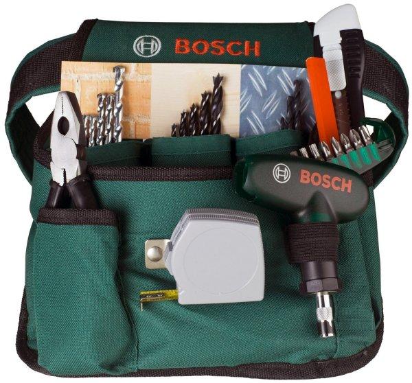 [Amazon Prime] Bosch Promoline Gürteltasche inklusiv 66 teilig Zubehör für 14,87€ (Sofortabzug an der Kasse)
