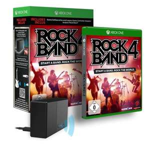 [UPDATE, jetzt nur noch 36,60€ / £28.99] Rock Band 4 - Legacy Adapter Bundle Xbox One Amazon.co.uk