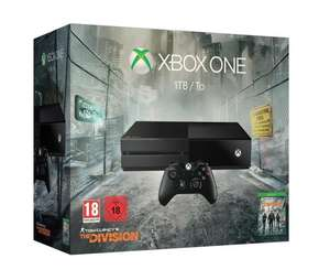 [Amazon.fr] Xbox One 1TB + The Division + Rise of the Tomb Raider (oder Halo 5 oder Forza 6) für 306,26€