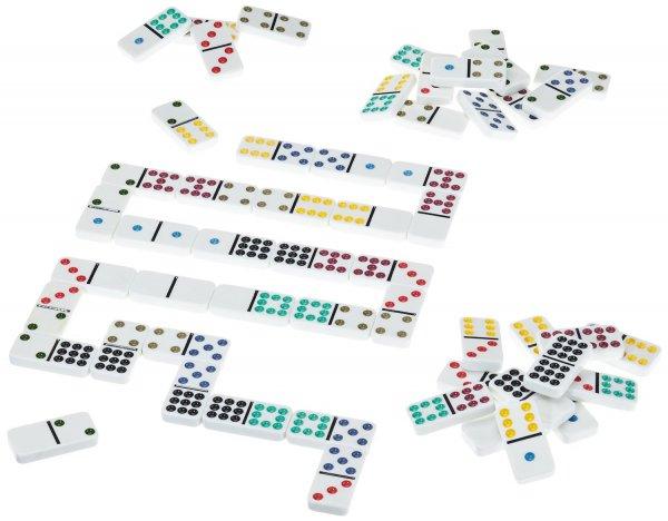 [Amazon Prime] Schmidt Spiele 49207 - Classic Line: Domino mit großen Spielsteinen