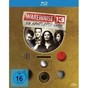(Amazon.uk) Warehouse 13: Die Komplette Serie [Blu-ray]