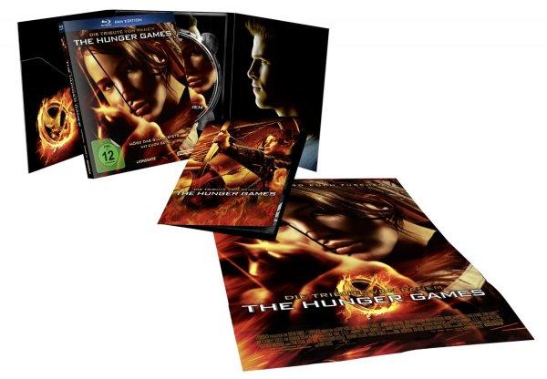 Die Tribute von Panem 1 + 2 + Mockingjay Teil1 als Fan Edition (Blu-ray) für je 7,89€ bzw 9,90€ bei Amazon (Prime)
