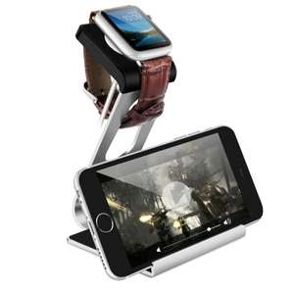 @Amazon: Aluminium Halterung für Apple Watch / Smartphone / Tablet ab 5,88€ mit Prime