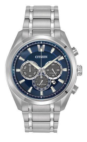 [Amazon.co.uk] Citizen Eco-Drive Titanium Chronograph CA4016-51L für 180,97 €