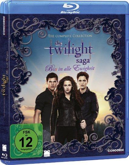 [Amazon Prime] Twilight Saga - Complete Collection [6 Blu-Ray Discs]
