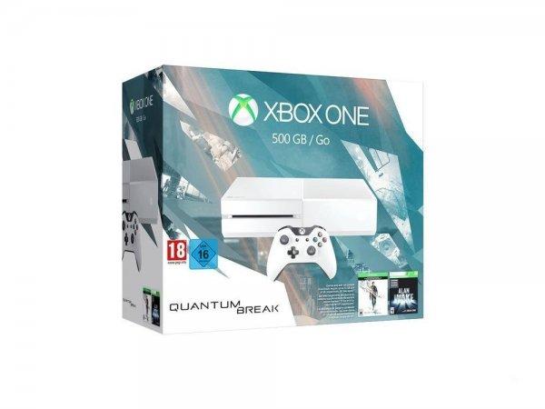 "[HDGameshop] Xbox  One ""Quantum Break Bundle"" (XBO 500GB 2015 in weiß + Quantum Break + Alan Wake Special Edition) für 299,90€"