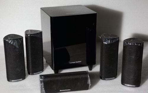 ebay:Stassen HiFi *Sammler* - Harman Kardon HKTS16BQ 5.1 Lautsprecher Set schwarz