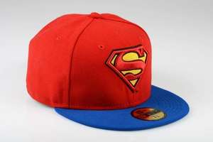 NEW ERA 59FIFTY Reverse Hero 2 Superman Cap [surfdome.de]