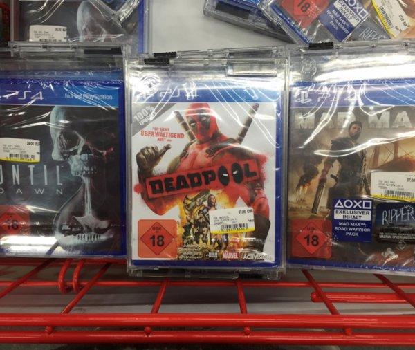 [MediaMarkt] Mad Max, Deadpool, Until Dawn PS4