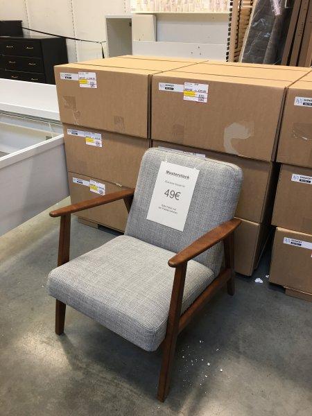 """[IKEA Lokal Siegen] Limitierter ausverkaufter """"EKENÄSET"""" Sessel nur € 49,- statt ursprünglich € 179,- (zuletzt € 90,-)"""