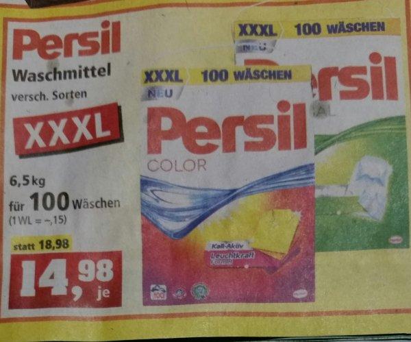 [Lokal T. Philipps] Persil und Persil Color 100 WL für 15 ct / WL