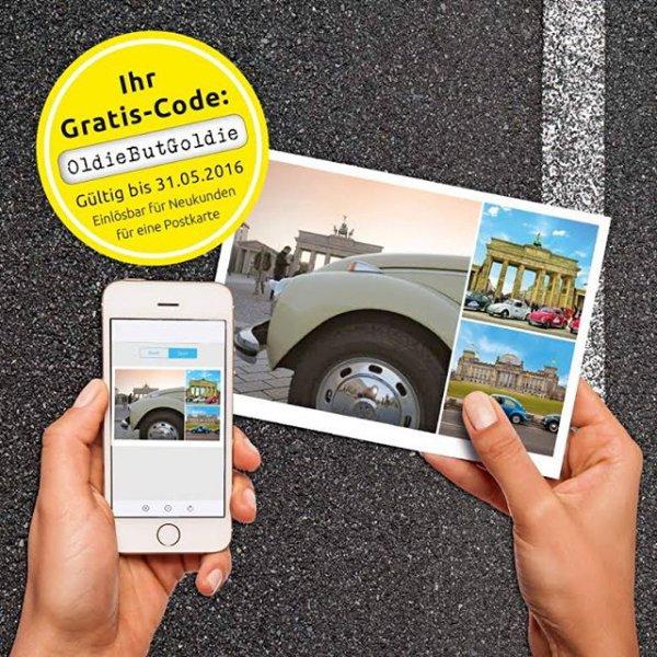 Gratis Postkarte versenden mit MyPostcard (nur Neukunden)