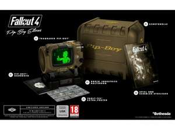 [Saturn.at - Versand nach DE möglich] (Fallout 4 Pip-Boy Edition) [PC,PS4,XBOX ONE] mit GS für 72€ NEU + Diablo III: Reaper of Souls - Collector's Edition 10€