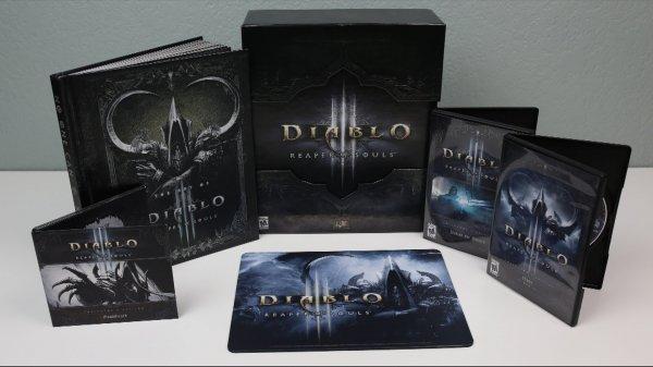 [Saturn.at] Diablo 3: Reaper of Souls - Collector's Edition (PC) (Mauspad, Artbook, Soundtrack, DLC) für 17€ inkl. Versand nach DE
