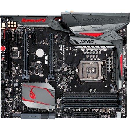 [ZackZack] ASUS ROG Maximus VIII Hero Mainboard (Intel Z170 Skylake, 4x DDR4 OC, M.2 + PCIe (NVMe), 2x USB 3.1, 7.1 Asus SupremeFX, Nvidia SLI + AMD CrossFire) für 184,90€ - 30€ Cashback = 154,90€