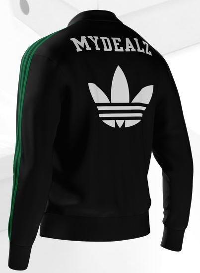 Adidas Klamotten personalisieren: 20 % Rabatt auf den mi adidas Store - z.B. myDealZ mi Firebird Jacket