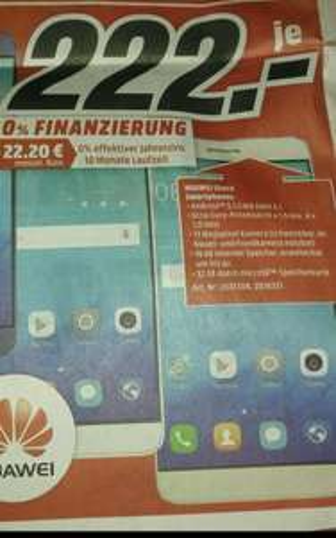Huawei Shot X (lokal Media Markt Heidelberg)