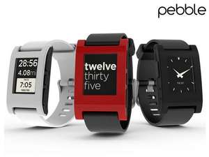 Pebble Classic Smartwatch in 3 Farben bei Ibood