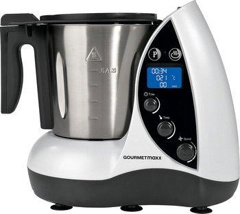 Ebay - Gourmetmaxx Thermo-Multikocher 9in1 1500W, weiß/schwarz Multikocher