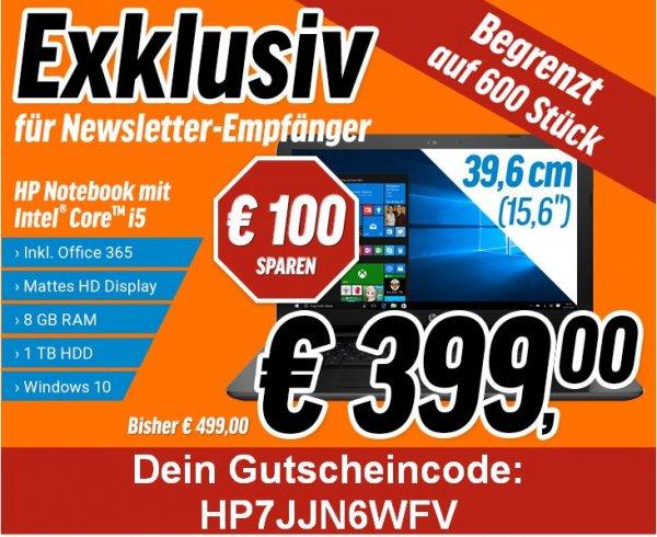 15,6 HP Notebook 250 G4 P5R28EA begrenzt auf 600 Stück