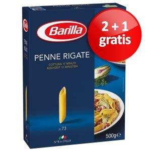 2 + 1 gratis Barilla Nudeln 3 x 500 g new jetzt nur 2,79€
