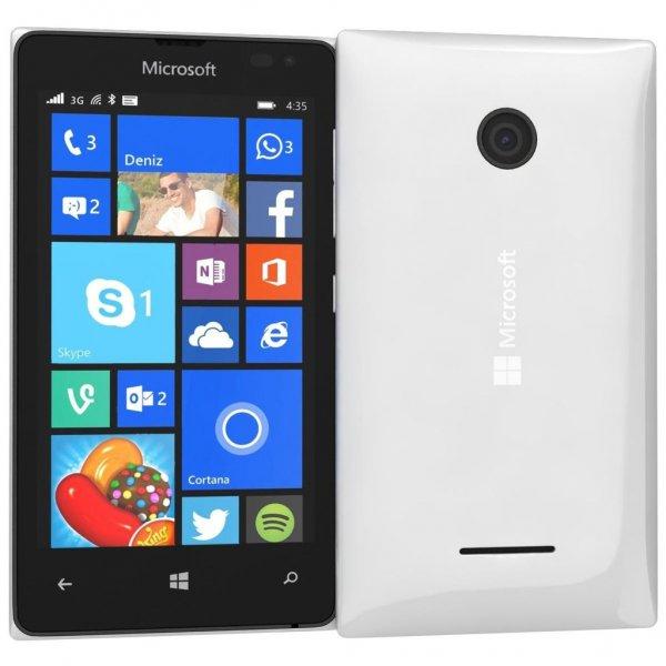 [Ebay.de] (neuwertige Gebrauchtware) Microsoft Lumia 435 weiß, Windows 10, versandkostenfrei, Paypal ist möglich, Versand aus D, simlockfrei