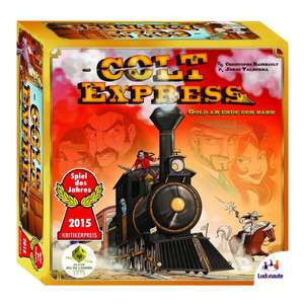 Colt Express, Brettspiel, Spiel des Jahres 2015 (Amazon Prime)  - 13,83€
