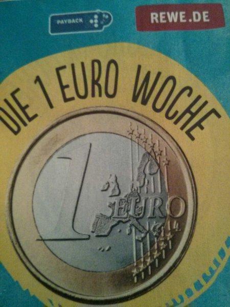 REWE 1 Euro Woche im Sauerland - u.a. Pfanner IceTea 2 l, 2x Mixery 0,5l, Knax Gewürzgurken, ...