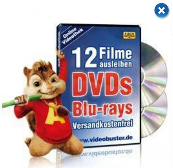 [Payback Prämie] 12 Leih-DVDs Video Buster Modell Mini für 999 P° (oder 200 P°+ 7,99€) statt 3.50 P°