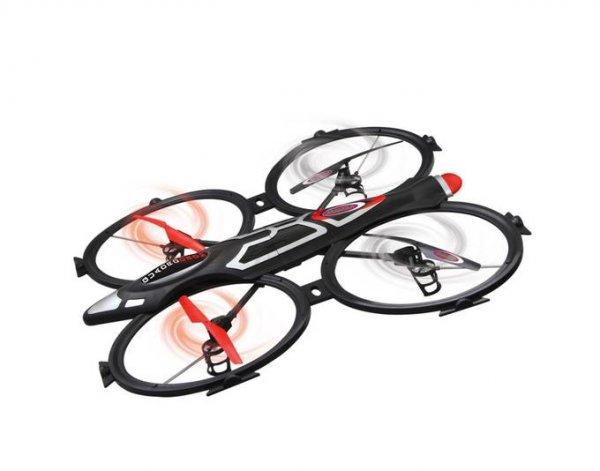 [Ebay/Mediamarkt] Jamara 038585 Quadrodrom Quadrocopter mit HD-Kamera Drohne 3 Flugmodi 2,4 GHz für 149,-€