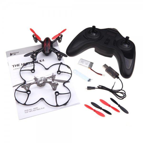 Mini-Drohne Hubsan x4 mit Kamera