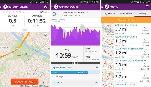Map My Walk+ GPS Pedometer - Google Play App der Woche - 96% Rabatt