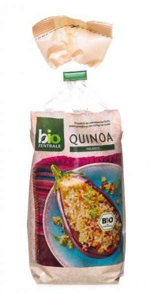 [Amazon Blitzangebot] biozentrale Weißes Quinoa, 2er Pack (2x400 g)
