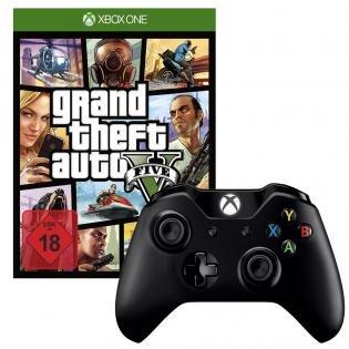 Grand Theft Auto 5 + Xbox One Wireless Controller für 72€