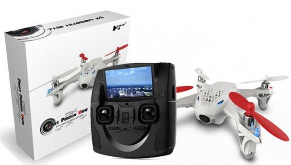 Drohne Hubsan X 4 H107D RC mit LCD Sender