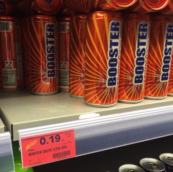 [edeka] Lokal? Stuttgart-Gerber - Booster Exotic 0,33l für 0,19€